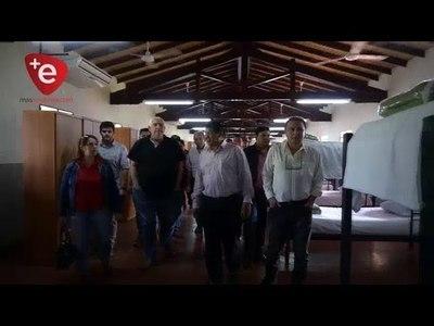 AUTORIDADES VISITAN ESCUELA AGRÍCOLA DE CARLOS A. LÓPEZ