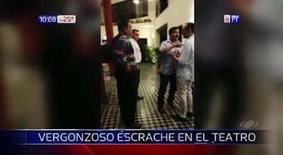 "Atropellaron obra de teatro por ""falta de respeto"" al Mariscal López"