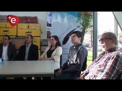 ESCRITORES PRESENTAN PROYECTO EDUCATIVO ''EXPONENTES DE LAS LETRAS''