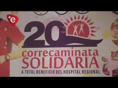 PRESENTAN 20° CORRECAMINATA SOLIDARIA A BENEFICIO DEL HRE