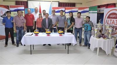 Lanzan sexto torneo de integración internacional de Vóley en el Chaco