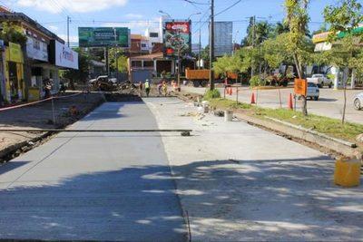 Cerrarán carril de la avenida San Martín
