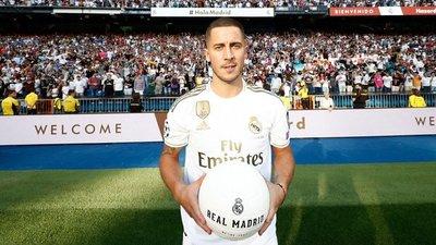 Eden Hazard fue presentado en el Real Madrid
