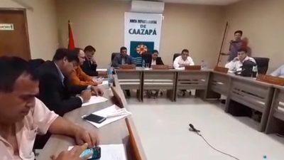 Junta Departamental de Caazapá envía Informe Final de Auditoría a la Fiscalía de Delitos Económicos