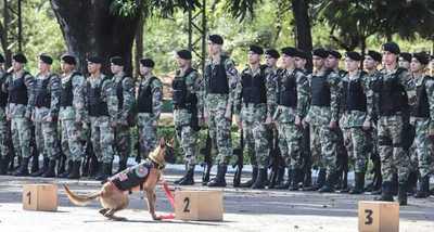 Regimiento Escolta Presidencial celebra su 175 aniversario de creación