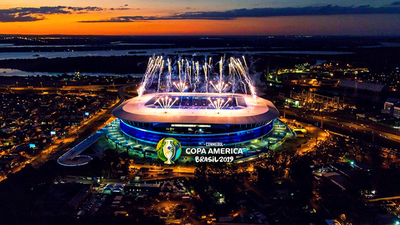 Sube el Telón de la Copa América
