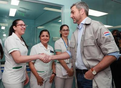 Infraestructura, equipos sanitarios y obras viales para el Alto Paraná