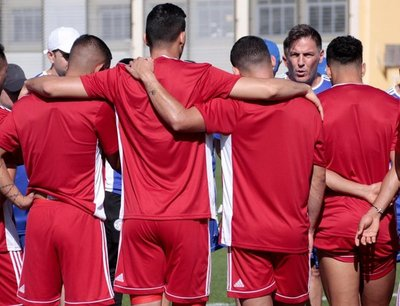 Paraguay cumple su primer entrenamiento en Río de cara al debut con Catar