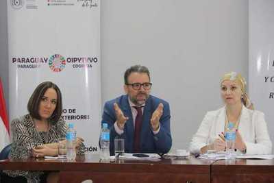 Reunión de trabajo con la Segib para analizar avances de programas de cooperación