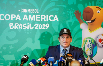 Alejandro Domínguez insta a los aficionados a acudir a la Copa América