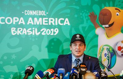 Alejandro Domínguez augura una gran Copa América