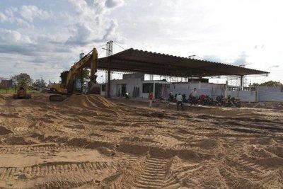 Avanzan las obras para el paso fronterizo en Ayolas
