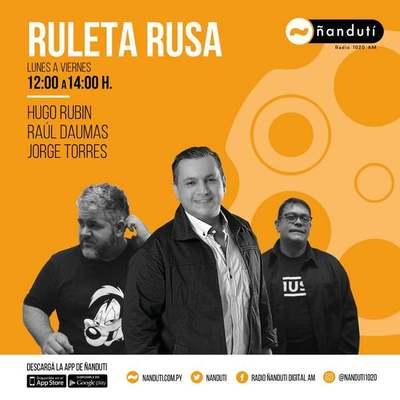 Ruleta Rusa con Jorge Torres Raúl Daumas y Jorge Torres