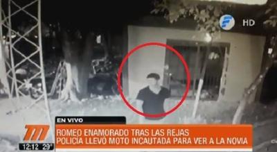 "Fiscala libera y ""defiende"" a suboficial que hurtó moto"