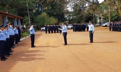 Acto de recordación a policías caídos en Curuguaty