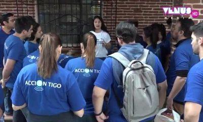 """Tigo celebra el """"Día del Voluntariado"""""""
