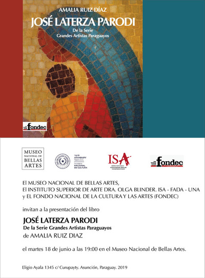 Presentarán libro sobre José Laterza Parodi