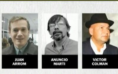 Arrom, Martí y Colmán apelan revocatoria de refugio