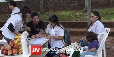 CONMEMORAN DÍA MUNDIAL DEL DONANTE DE SANGRE EN LA GOBERNACIÓN DE ITAPÚA.