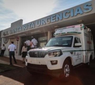 IPS: Inauguran unidad sanitaria en Santa Rita