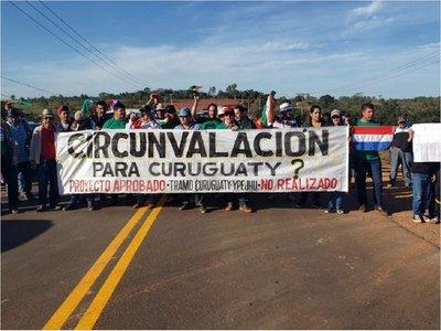 Curuguaty: Abren mesa de diálogo para atender reclamos en manifestación