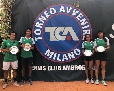 Campeones de dobles en Italia
