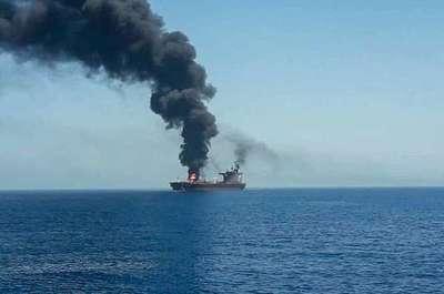 Denuncian ataques a dos buques petroleros cerca de Irán en medio de las tensiones con EE.UU.