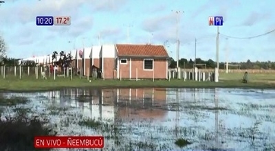 La inundación en Guazú Cuá
