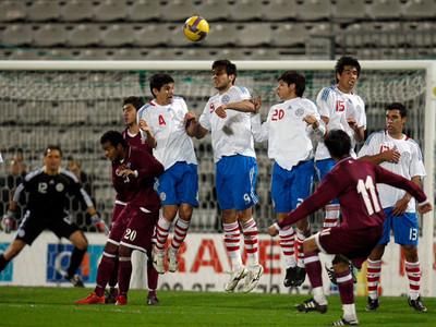 Rodrigo Rojas es el único del plantel que ya jugó ante Catar