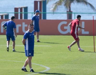Posible equipo de Paraguay ante Qatar