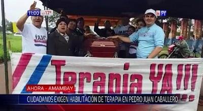 Exigen servicio de terapia intensiva en Hospital de Pedro Juan