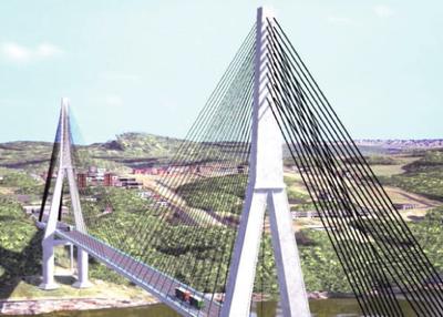Instalarán máquinas en zona del segundo puente