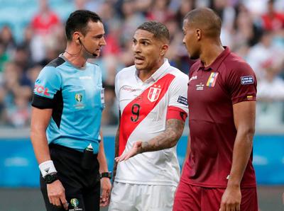 El VAR es figura en el empate entre Perú y Venezuela