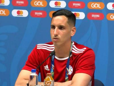 Conferencia de prensa de Junior Fernández