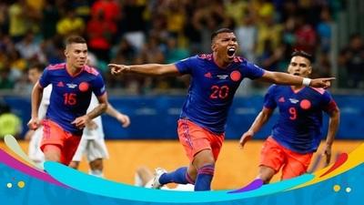 Colombia con superioridad derrotó a la Argentina de Messi