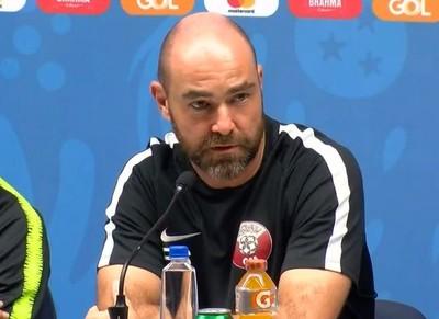 Félix Sánchez habla de Paraguay, palpitando el debut