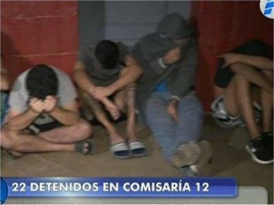 Más de 20 detenidos tras redada policial en Refugio Copaco