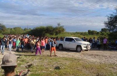 Puerto Casado: sepultan a padre e hijo asesinados