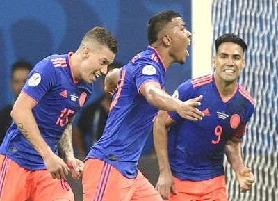 Colombia amarga a Argentina