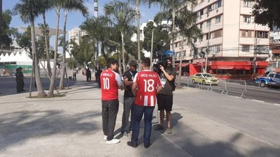 Paraguayos comienzan a llegar al Maracaná