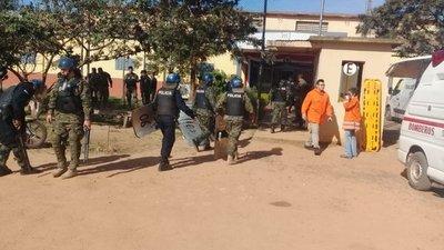 Controlan amotinamiento en cárcel de San Pedro
