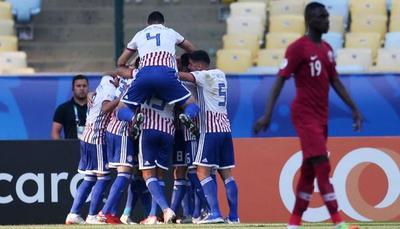 Paraguay iguala ante Qatar en juego debut en la Copa América
