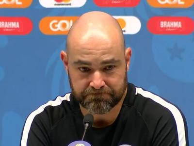 Félix Sánchez analizó el empate ante Paraguay