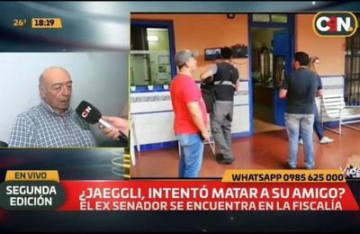 Alfredo Jaeggli se encuentra en la Fiscalía.