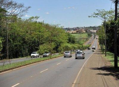 Anuncian reparación de supercarretera de Itaipú en un tramo 170 kilómetros