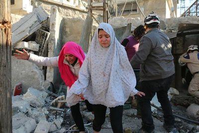 Doce civiles mueren en Siria por cohetes de los rebeldes