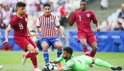 Paraguay empate contra Qatar en un pobre debut