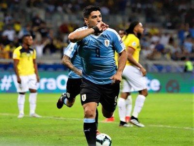 Luis Suárez, la voracidad que lidera a la 'Celeste'