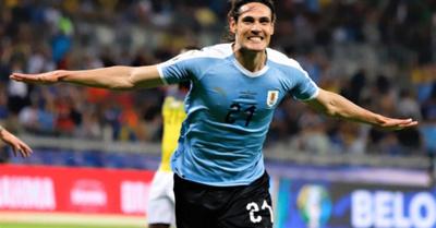 Uruguay goleó a  Ecuador por 4-0
