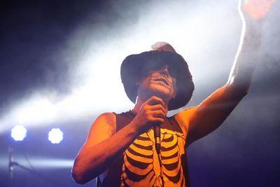 Michale Graves celebró parte del pasado de Misfits en Asunción